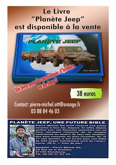 CLIQUEZ ici pour acheter le livre Planète Jeep de Pierre Michel OTT