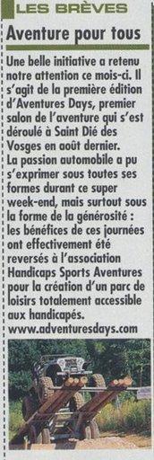 Adventures 4x4magazine325