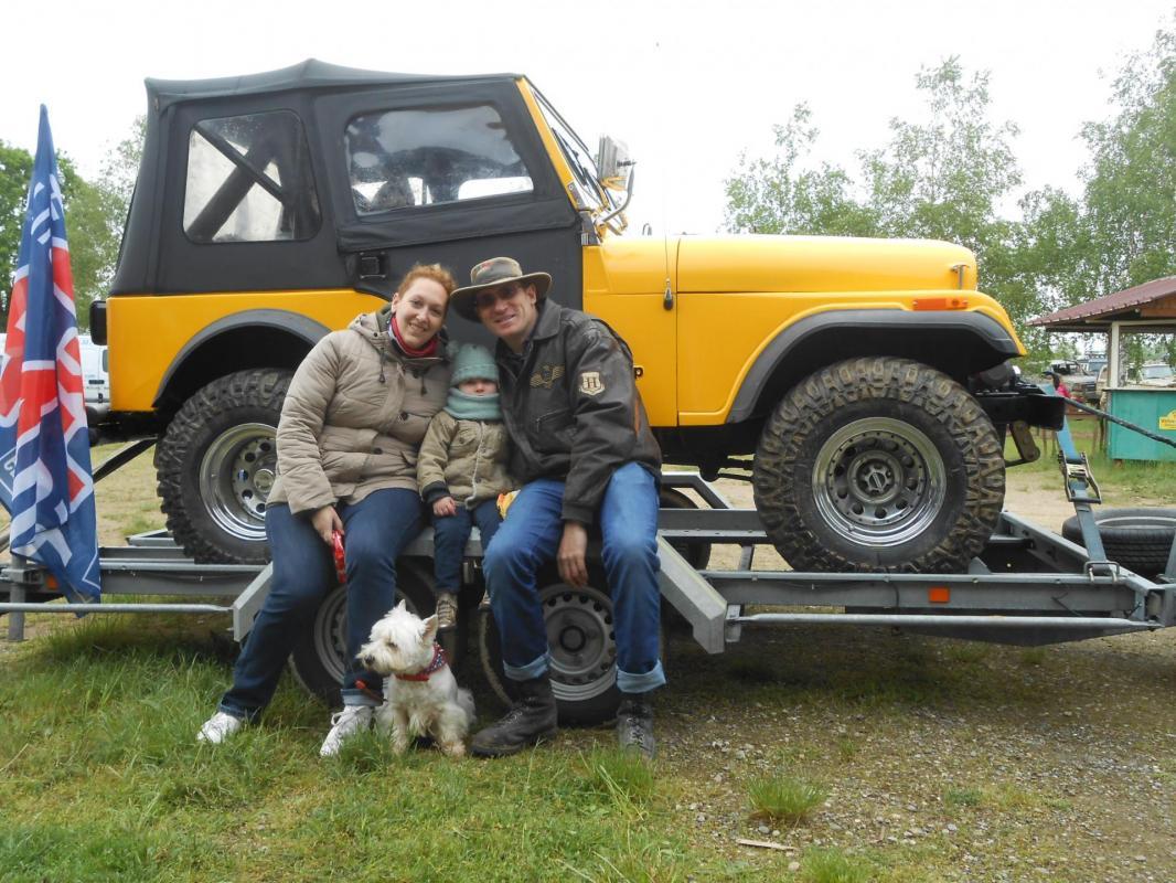 Jeef, Emilie et la petite Louise